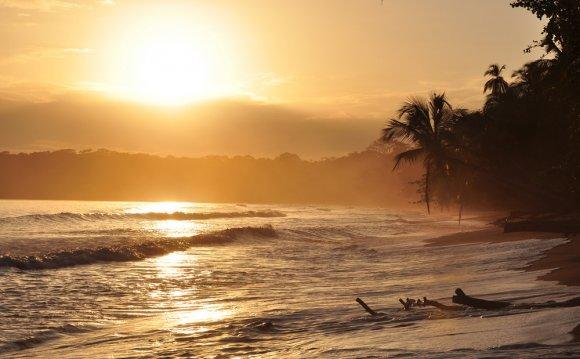 Sunrise Cahuita Costa Rica