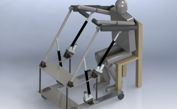 Mobility assistive device for
