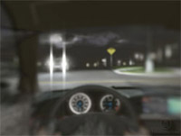 Night driving with cortical cataract