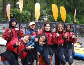 white water rafting for ESL teachers regarding the vacations